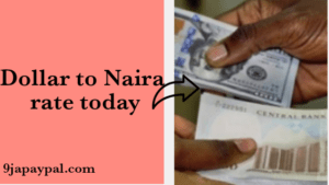 Naira to Dollar rate today